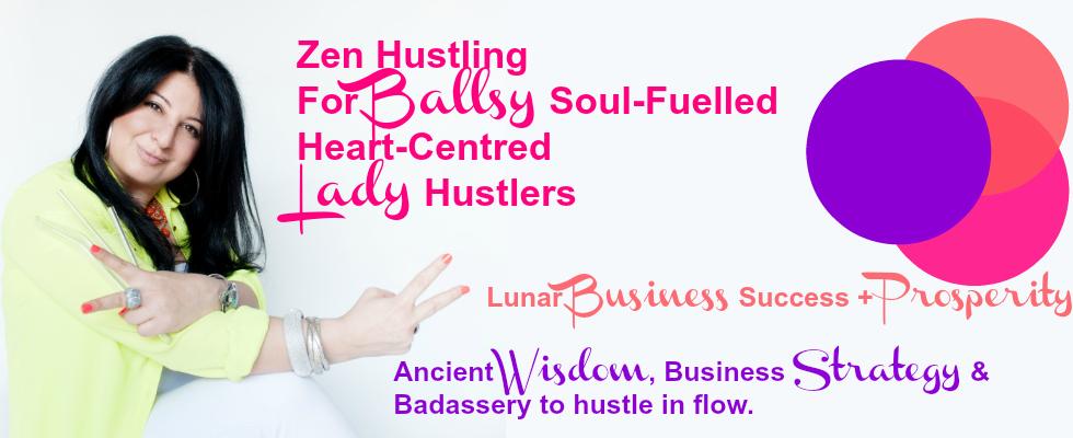 Lady Hustle Banner for Website