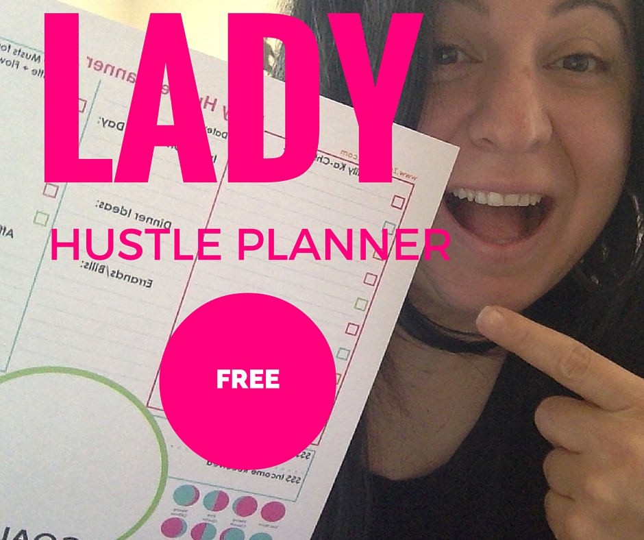 Lady Hustle Planner